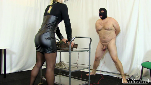Femdom and Strapon Zitas cock and ball torture