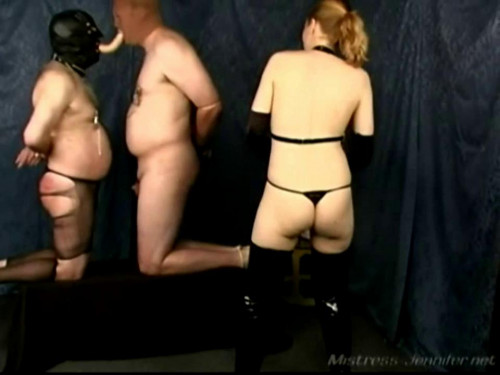 Femdom and Strapon Take It Deep - LE