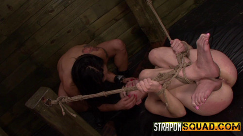 bdsm Straponsquad - Jun 17, 2016 - Another Round of Lesbian Domination with Nikki Bell and Isa Mendez