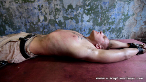 Gay BDSM RusCapturedBoys – Slava - The Prisoner of War - Final Part