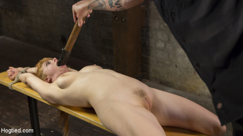 bdsm Red Headed Rope Slut is and Tormented