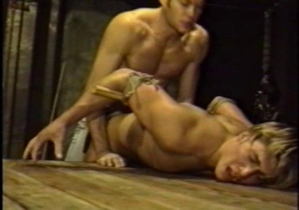 Gay BDSM Bound in Servitude