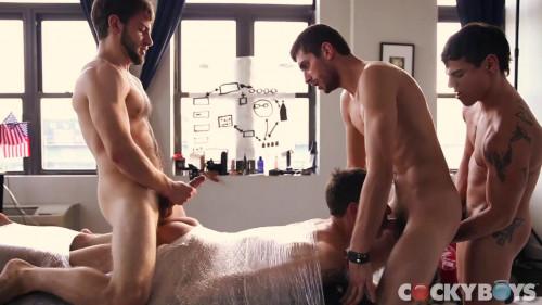 Gay BDSM Dillon Rossi, Levi Karter, Bravo Delta, Chris Harder