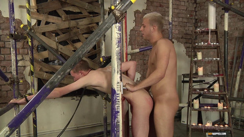 Gay BDSM Butt Fucked Hard
