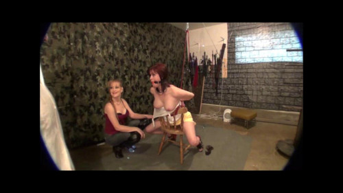 bdsm Dani In The Torture Chair Part One
