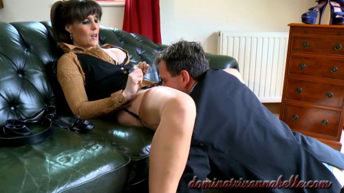 Femdom and Strapon valet scene7 part 2