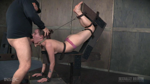 bdsm Face Fucked In Extreme Bondage
