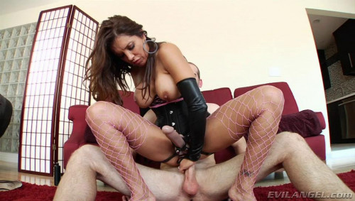 Femdom and Strapon Abella Danger