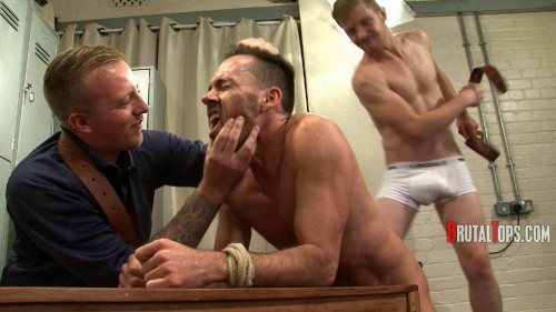 Gay BDSM Master Derek and Master Edward – Session Pt.334 (540p)