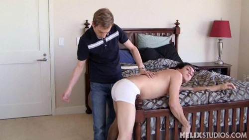 Gay BDSM Ethan Conner gets Spanked