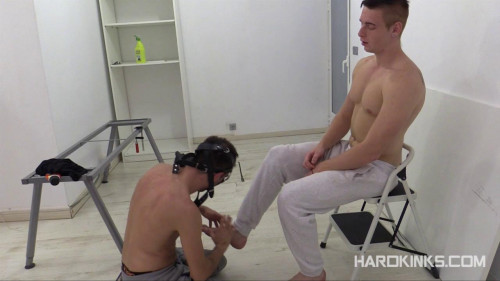 Gay BDSM Evil Repairboy (Tyler Roding)