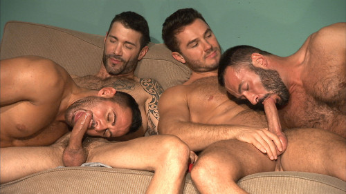 TitanMen Exclusives Jessy Ares and Marco Wilson with Junior Stellano and Wilfried Knight - Command P
