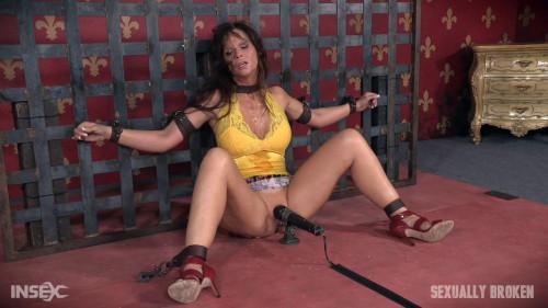 bdsm Hot Cougar is bound