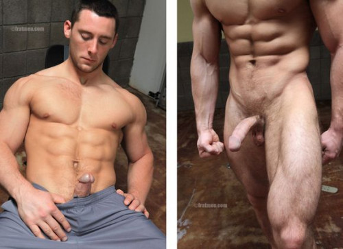 FratmenTV - Sal (Naked College Bodybuilder)