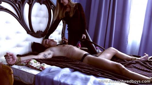 Gay BDSM A New Mistress of Slave Vasiliy - Part I