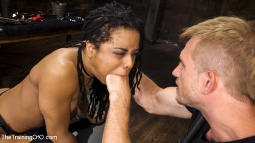 bdsm Kira Noir Trained to Fist Her Own Ass