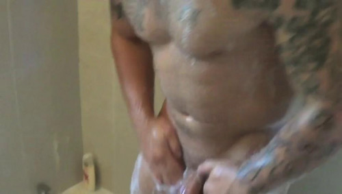 Gay BDSM Bubble Bath Blues
