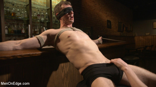 Gay BDSM Cancelled Birthday Party Becomes a Messy Edging Party