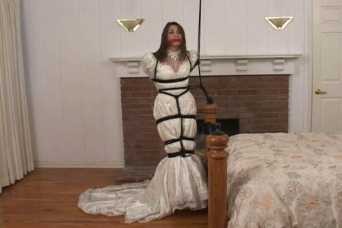 bdsm Bound and Gagged - Bride Bound and Gagged - Celeste Star