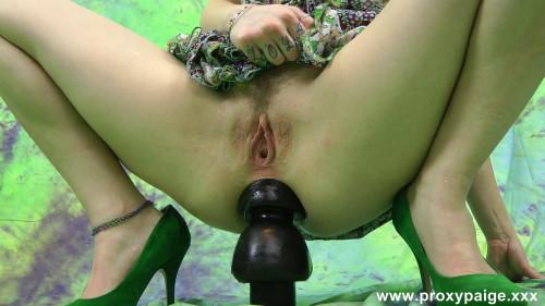 triple buttplug naughty girl ride