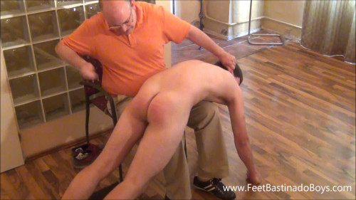 Gay BDSM Lukas Liz(caning)