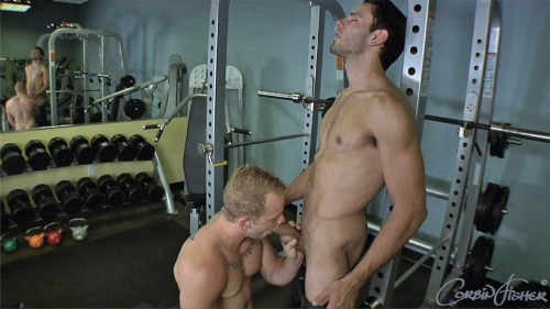 Tom & Trey's Gym Fuck