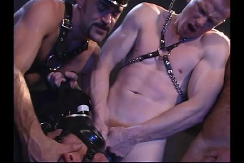 Gay BDSM Red Star