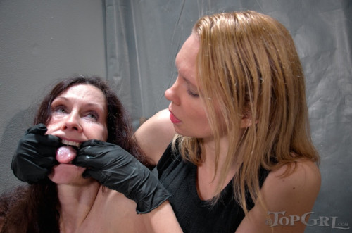 bdsm TG - Emma and Rain DeGrey - Mrs. Wellingtons Big Day - February 23, 2015