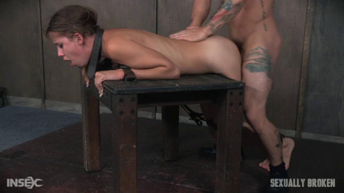 bdsm To cute for porn Zoey Lane is destroyed by massive hard pounding cock in bondage.