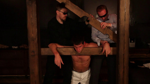 Gay BDSM Georgiy in Pain. Final Part