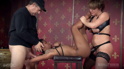 bdsm Fucked From Both Ends