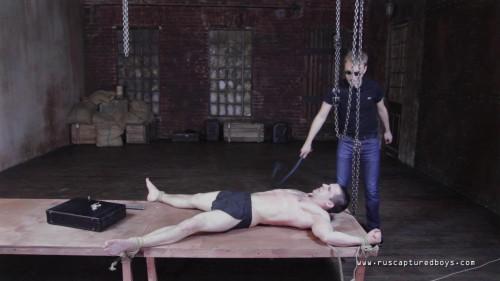 Gay BDSM RusCapturedBoys - Punishment for Unsubmissive Prisoner I