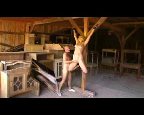 bdsm Fucking hanging