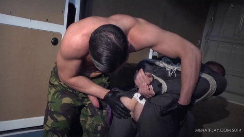 Gay BDSM Men at Play - Ronnie Bonanova and Malek Tonias (Thug)