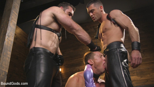 Training Day - Dom in training gets to break in a ripped, new slave