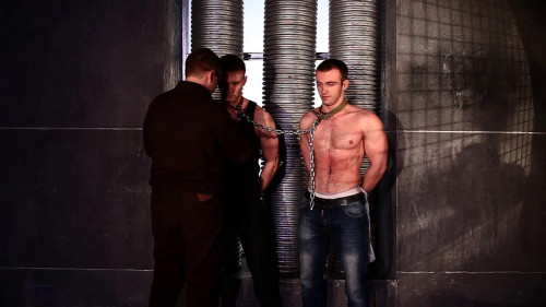Gay BDSM RusCapturedBoys - The caught saboteurs 1