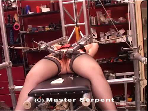 bdsm The torture of a mature wooman