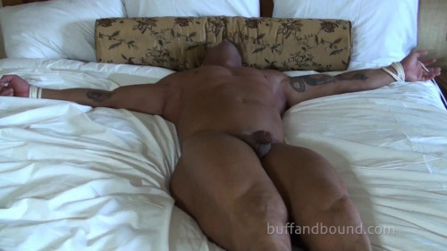 Gay BDSM BuffAndBound Michael Satin - Bound and Tickled