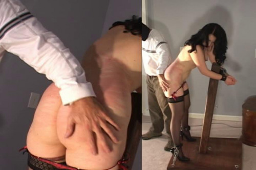 bdsm Samantha Flogged, Nipple-Pinched, and Slapped