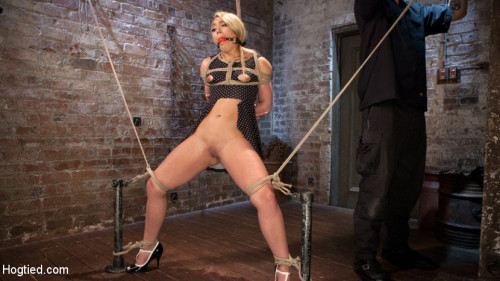 bdsm AJ Applegate Submits To Grueling Bondage and Torment