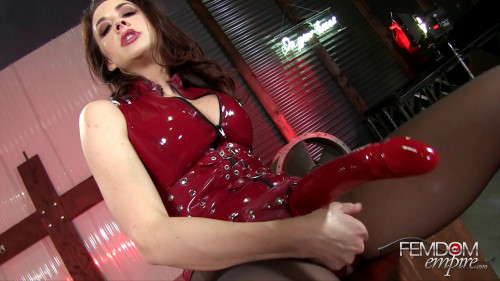 Femdom and Strapon Chanel Preston Chanels Butt Slut (2016)