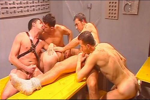 [Phallus] Uniform orgy Scene #1