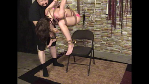 bdsm TB - Elise In Pink and Ropes Part 2