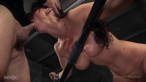 bdsm Part two of Syren de Mers BaRS show with rough brutal fucking and challenging deepthroat on BBC