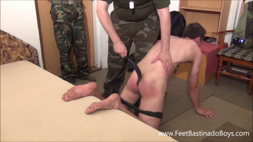 Gay BDSM Punishment Of A Military