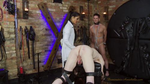 Femdom and Strapon slave episode 31