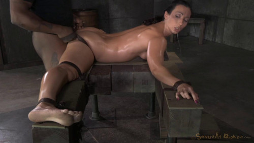 bdsm Flexible Wenona Bound in the Splits