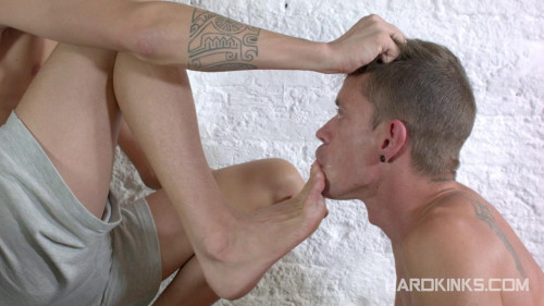 Gay BDSM HK - Aaron Lautner and Alec Loob (Dominating My mans Pal)