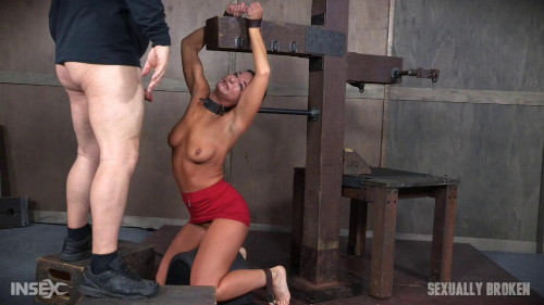 bdsm London River - Strains and Cums Until Tears Fall for First Part of BaRS Feed (2016)