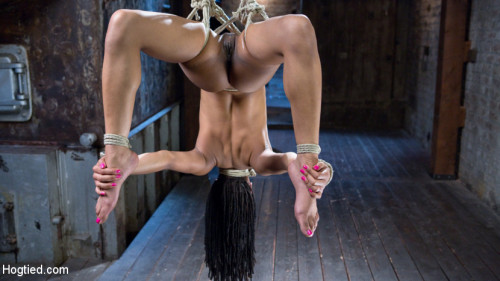 bdsm All Natural Ebony Newcomer in Brutal Bondage and Suffering Like a Pro